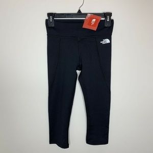 NWT The North Face Women XS Black On The Go Capri